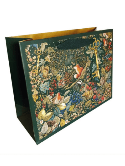 the art file secret garden large landscape gift bag