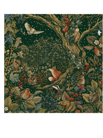 the art file secret garden greetings cards