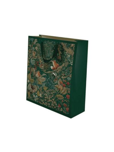 festive small secret garden gift bag