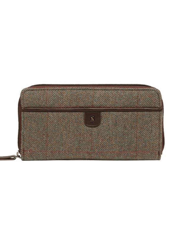 joules tweed Adeline purse